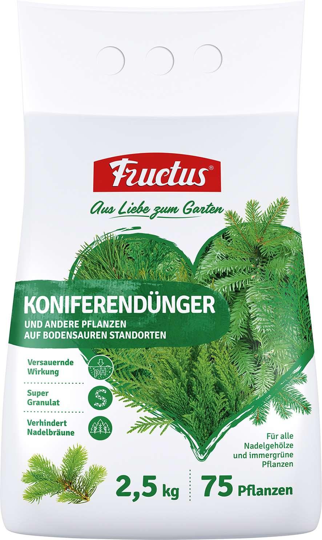 fructus koniferendünger 2,5 kg
