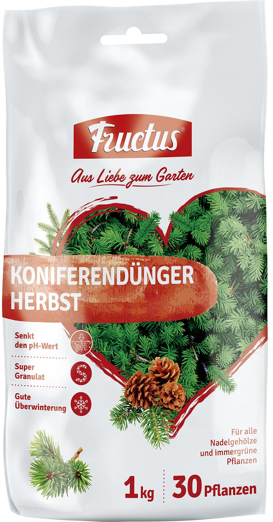 fructus koniferendünger herbst 1 kg
